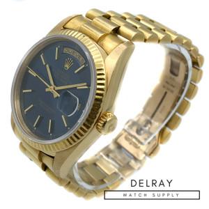 Rolex Day Date 18238 Blue Dial