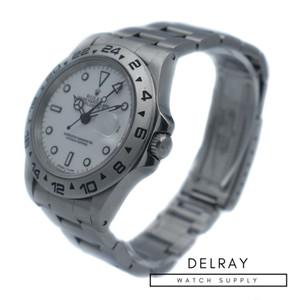Rolex Explorer II 16550 White Dial