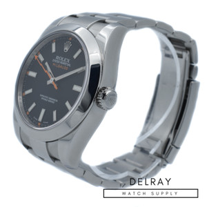 Rolex Milgauss 116400 Black Dial 4