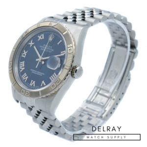 Rolex Turnograph 16264 Blue Dial