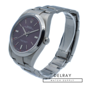 "Rolex Oyster Perpetual 39 114300 ""Grape Dial"""