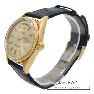 Rolex Day Date 1803 On Strap