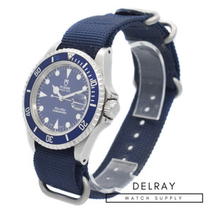 Vintage Tudor Submariner 79190 Blue Dial