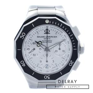 Baume et Mercier Riviera XL Chronograph White Dial