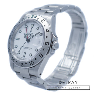 Rolex Explorer II 16570 Polar Dial *Box and Papers*