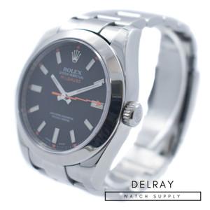 Rolex Milgauss 116400 Black Dial 9