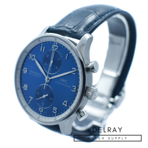 IWC Portuguese Chronograph Laureus Blue Dial *Limited Edition*