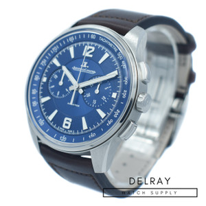 Jaeger LeCoultre Polaris Chronograph Blue Dial *ON SPECIAL*