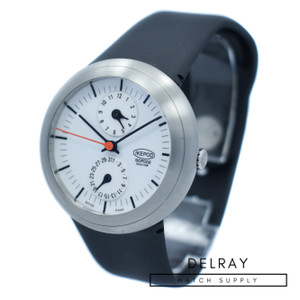 Ikepod Isopode Dual Time White Dial *UNWORN*