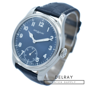 Montblanc Heritage 1858 Blue Dial
