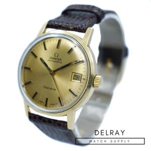 Vintage Omega Geneve 18K Gold
