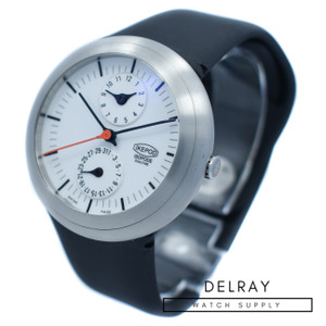 Ikepod Isopode Dual Time White Dial