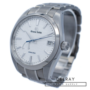 Grand Seiko Snowflake SBGA211 *2019 Box and Papers*