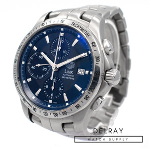 Tag Heuer Link Chronograph Blue Dial