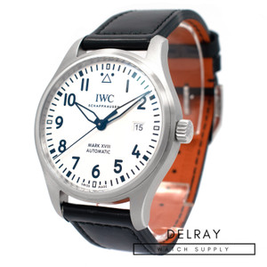 IWC Mark XVIII White Dial *2019* *ON SPECIAL*