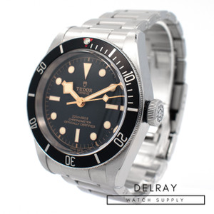 Tudor Black Bay Black *Box and Papers*