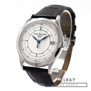 Patek Philippe Calatrava 5296G Sector Dial *With Deployant Buckle*