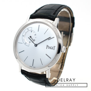 Piaget Altiplano Ultra Thin White Gold