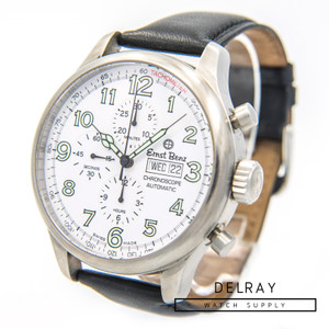 Ernst Benz Chronoscope Chronograph White