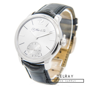 H. Moser Endeavour Small Seconds White Gold