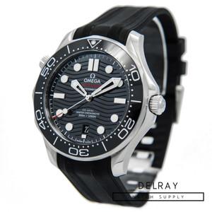 Omega Seamaster Professional Ceramic Wave Black Dial