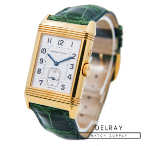 Jaeger Lecoultre Reverso Duoface 18K Yellow Gold