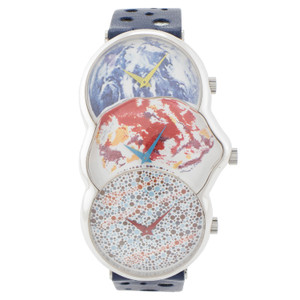 Movado Elipse James Rosenquist Silver Case *Limited Edition*