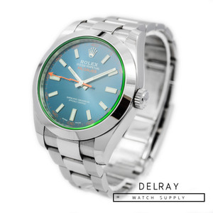 Rolex Milgauss 116400GV Z Blue *2019 Box and Papers*