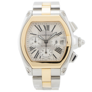 Cartier Roadster Chronograph Two Tone