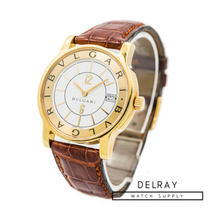 Bulgari Solotempo 18k Yellow Gold