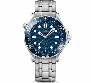 New Omega Seamaster Automatic Blue Dial