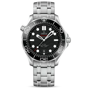 New Omega Seamaster Automatic Black Dial