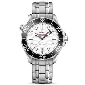 New Omega Seamaster White Dial