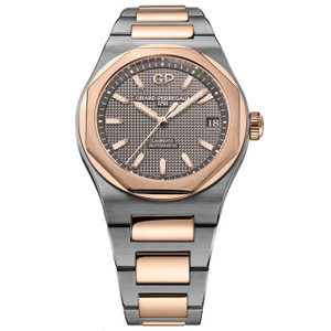 New Girard-Perregaux Laureato Grey Dial on Bracelet