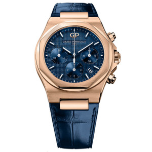 New Girard-Perregaux Laureato Rose Gold Chronograph