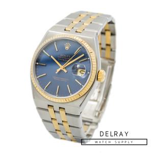 Rolex Datejust Oysterquartz 17013 Blue Dial