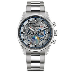New Zenith Chronomaster El Primero Grande Date Full Open on Bracelet