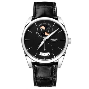 New Parmigiani Fleurier Tonda 1950 Lune Black Dial