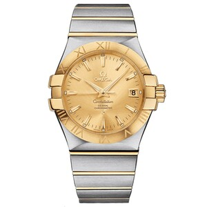 New Omega Constellation Co-Axial Yellow Dial
