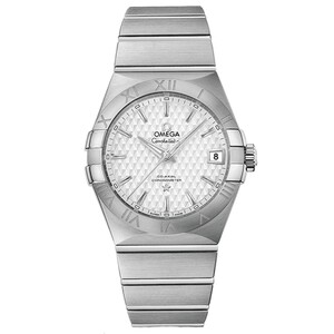 New Omega Constellation Co-Axial Silver Dial