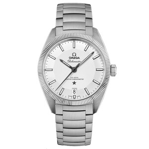 New Omega Constellation Globemaster Silver Dial on Bracelet