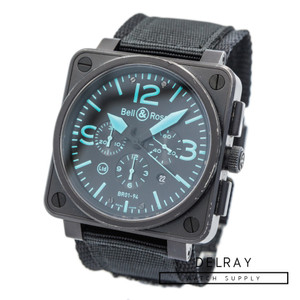 Bell & Ross BR01-94 Blue Chronograph *Limited Edition*