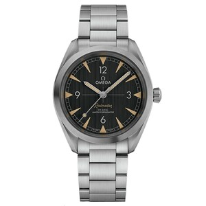 New Omega Seamaster Railmaster Co-Axial Master Chronometer Black Dial on Bracelet