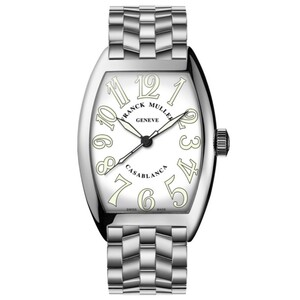 New Franck Muller Casablanca White Dial on Bracelet