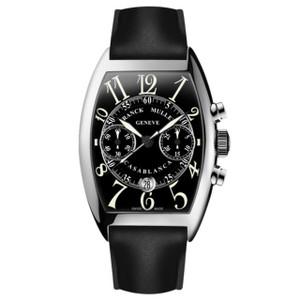 New Franck Muller Casablanca Chronograph Black Dial on Strap