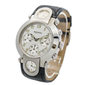 DeLaneau Three Timezone Chronograph *UNWORN* *ON SPECIAL*