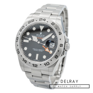 Rolex Explorer II 216570 Black Dial *2017 Box and Papers*