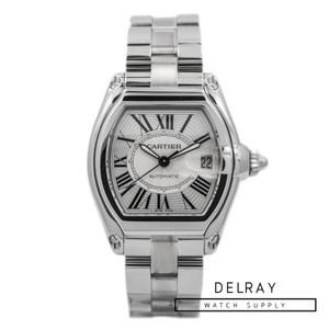 Cartier Roadster Silver Dial