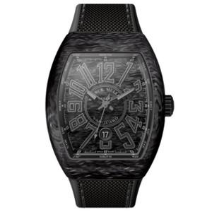New Franck Muller Vanguard Carbon Black Dial