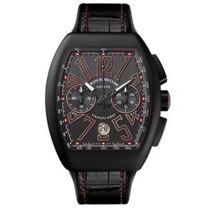New Franck Muller Vanguard Chronograph Black Dial Titanium